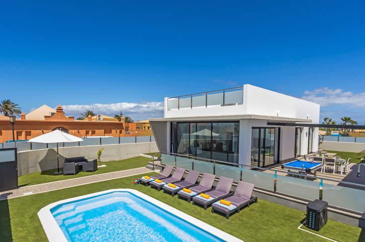 Villa Suenos, Corralejo, Fuerteventura, Spain