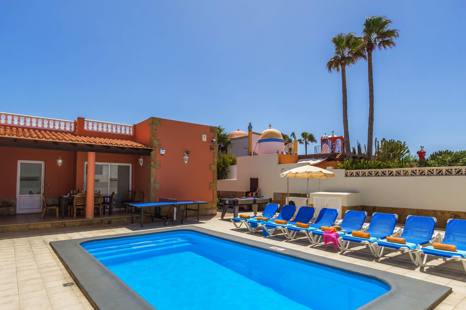 Villa Talkayan, Corralejo, Fuerteventura, Spain