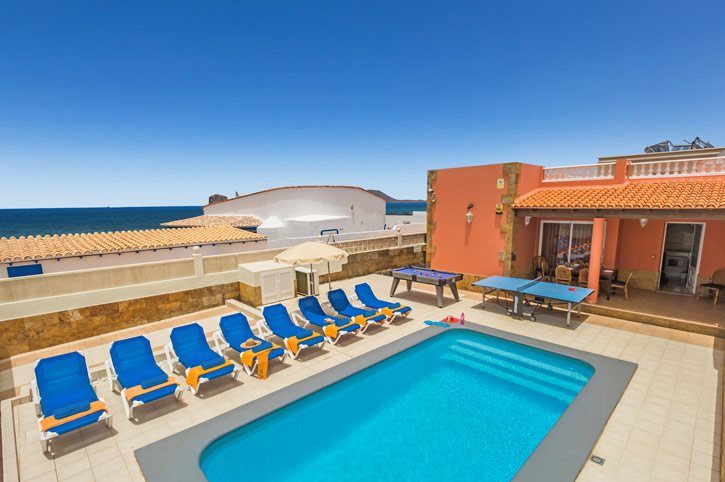 Villa Tamarindos, Corralejo, Fuerteventura, Spain