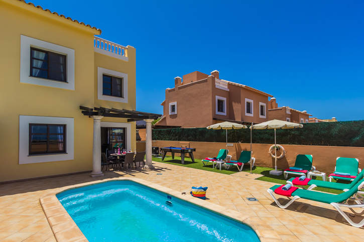 Villa Vista Dunes, Corralejo, Fuerteventura, Spain