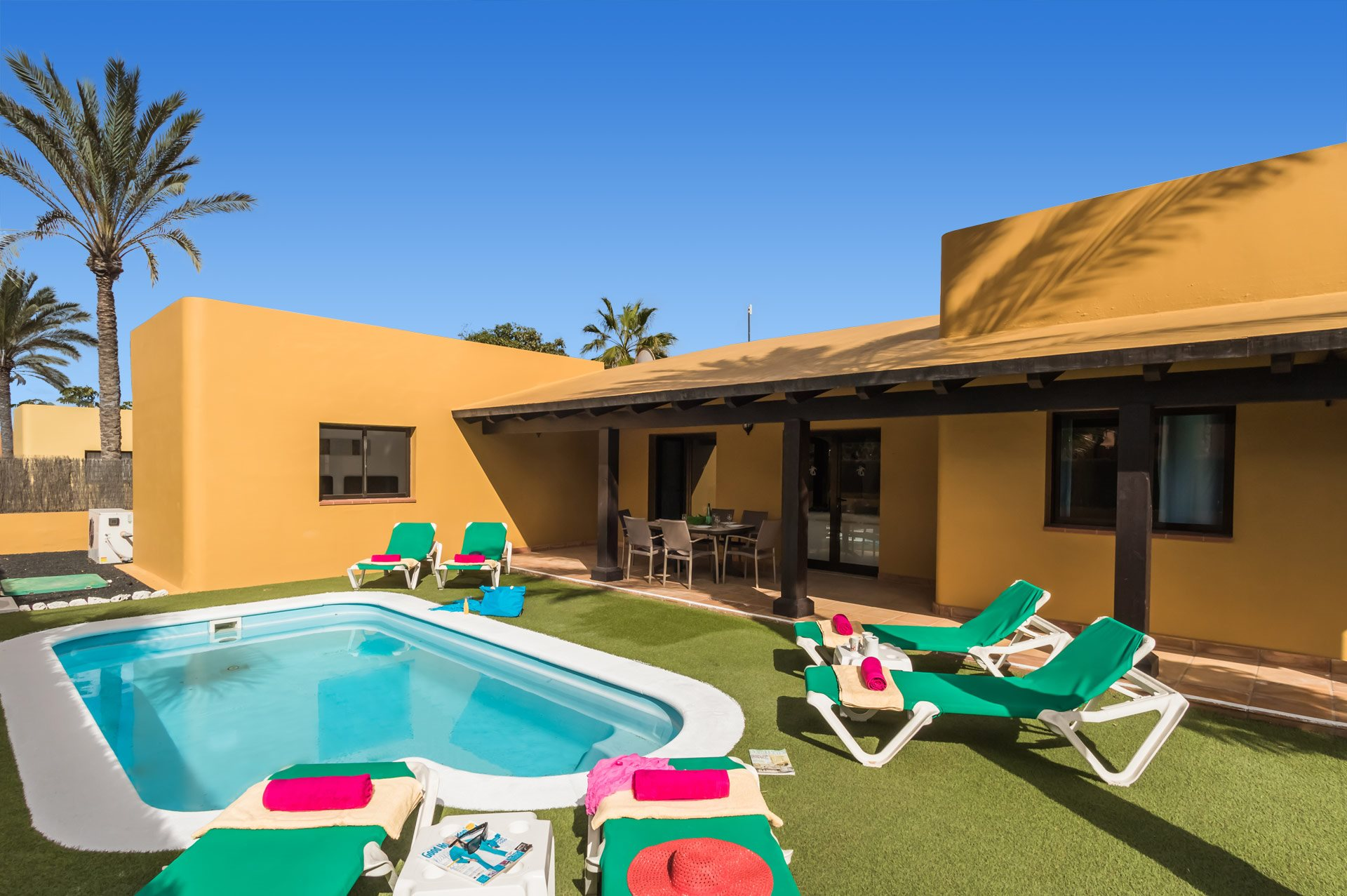 Villa Yalira, Corralejo, Fuerteventura