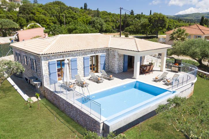 Villa Annita, Fiskardo, Kefalonia, Greece