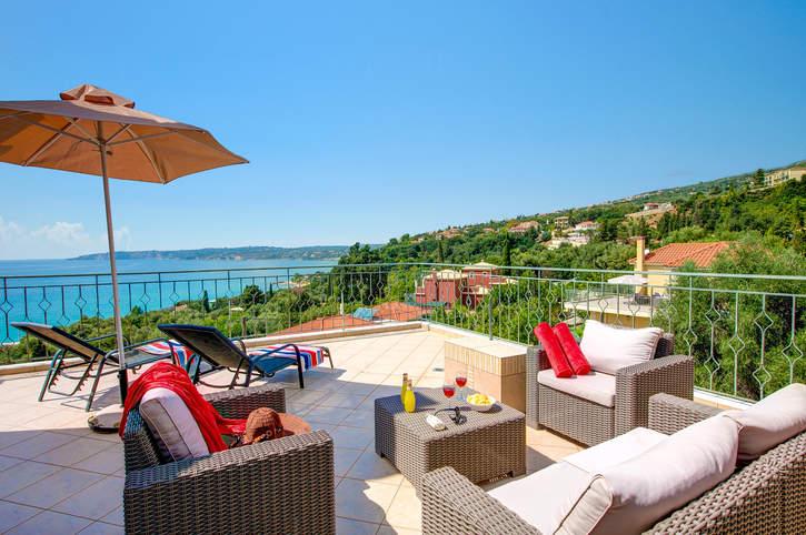 Villa Chrissos, Lourdas, Kefalonia, Greece