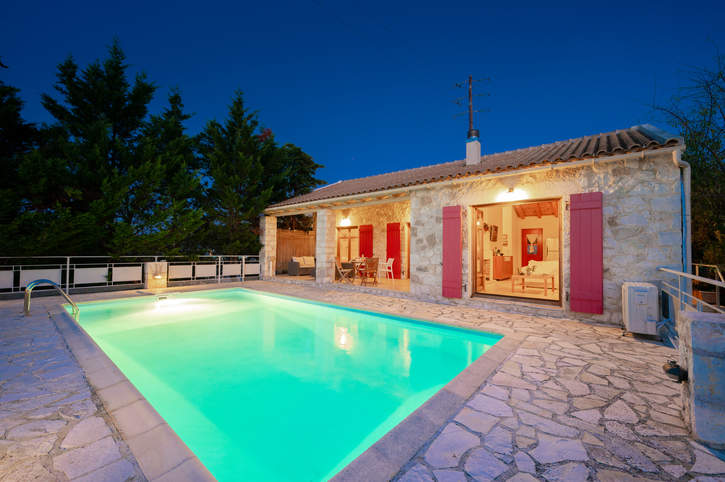 Villa Delfini, Fiskardo, Kefalonia, Greece