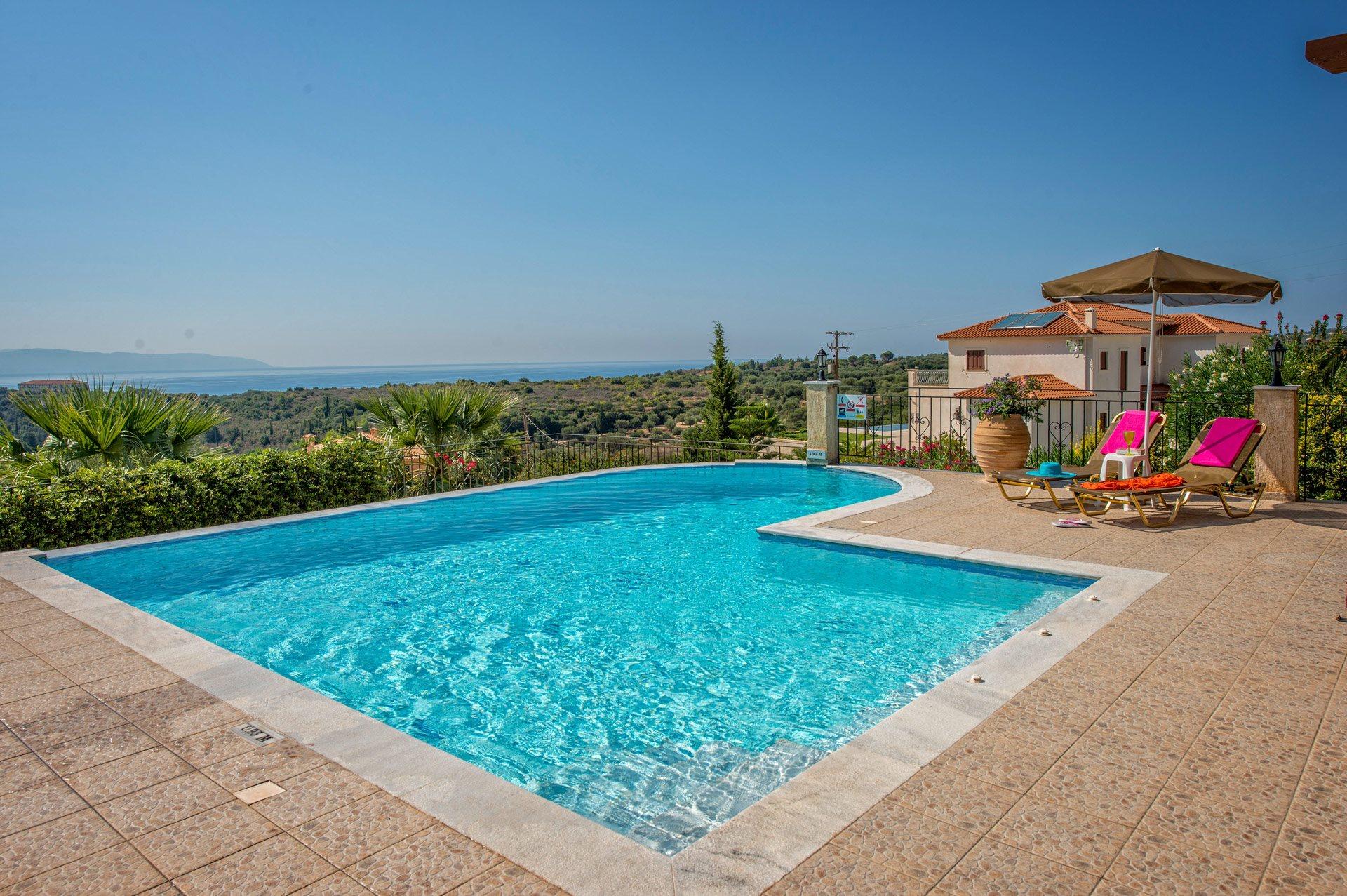 Villa Eos, Trapezaki, Kefalonia, Greece