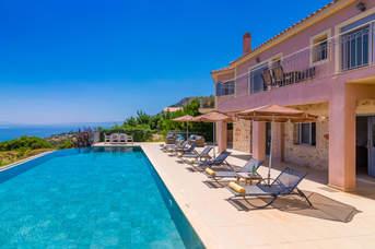 Villa Estiasi, Old Skala, Kefalonia, Greece