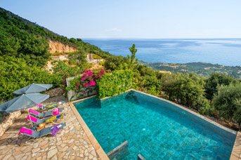 Villa Halazas, Old Skala, Kefalonia, Greece