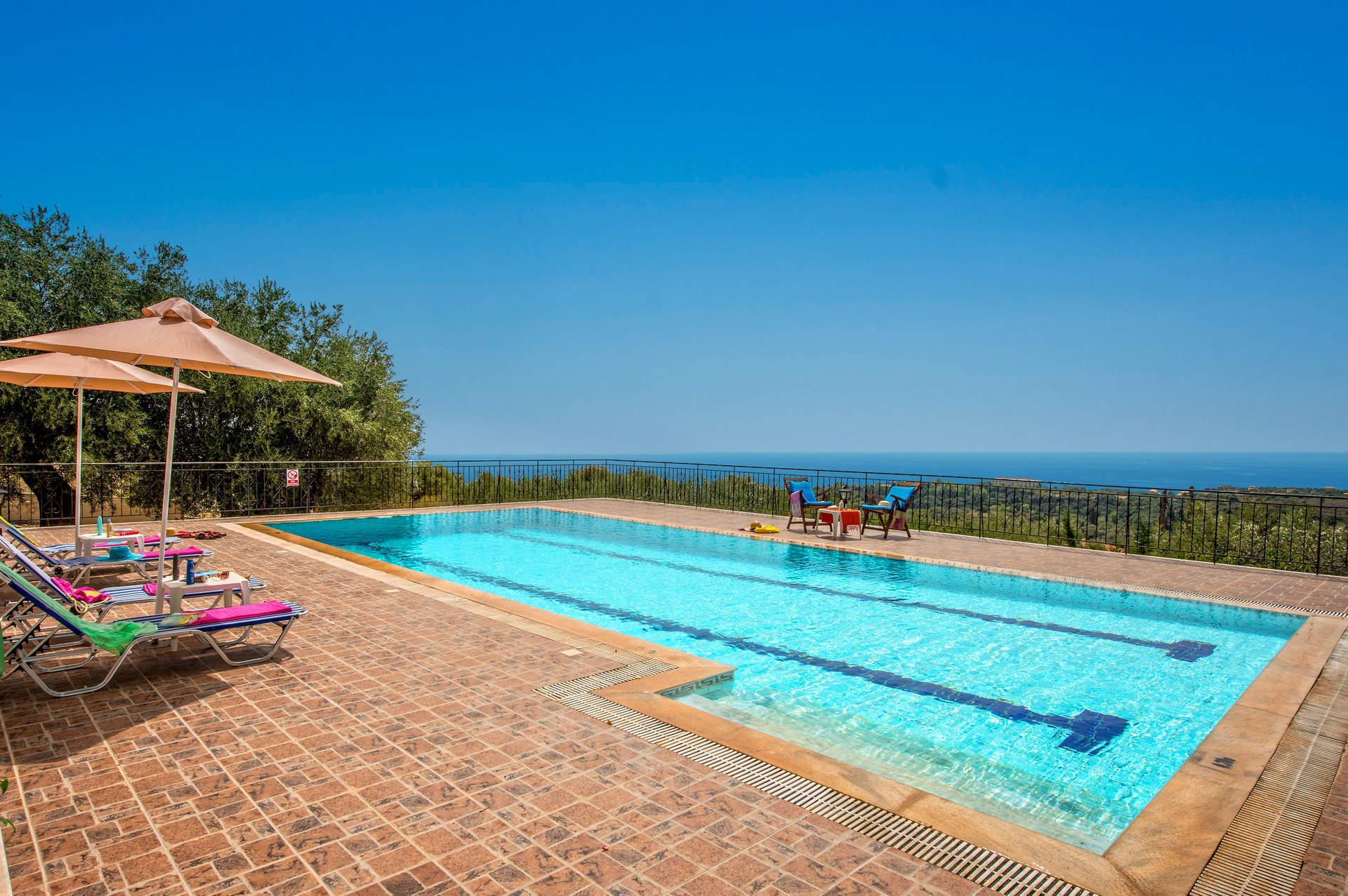 Villa Kismet, Trapezaki, Kefalonia, Greece