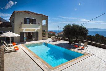 Villa Latos, Lourdas, Kefalonia, Greece