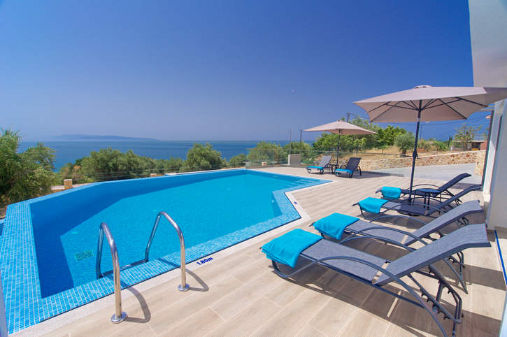 Villa Michou Thalassa, Lourdas, Kefalonia, Greece