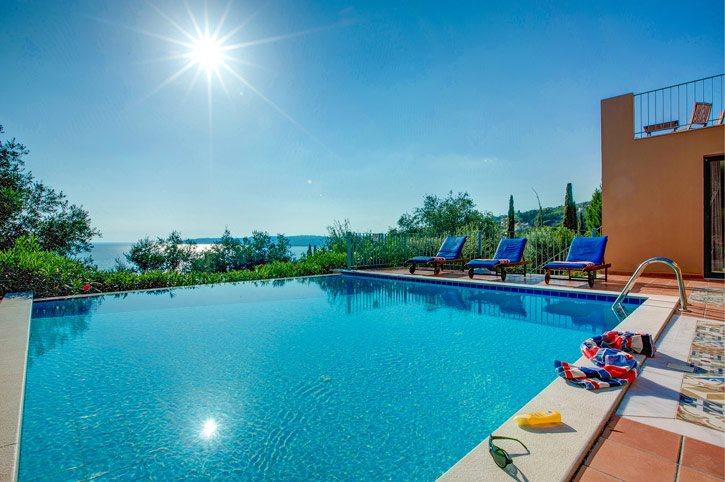 Villa Olivia Sea View, Lourdas, Kefalonia, Greece