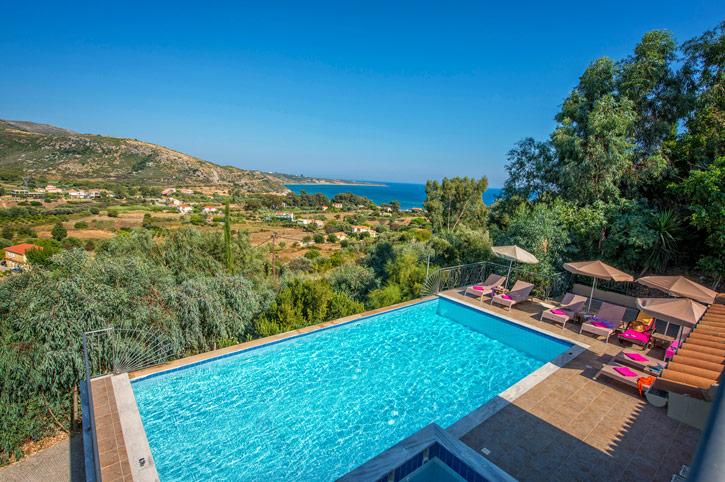 Villa Orchidea, Katelios, Kefalonia, Greece