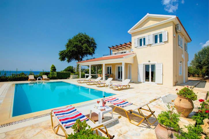 Villa Panmaria, Svoronata, Kefalonia, Greece