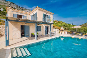 Villa Pelagia Sea View, Old Skala, Kefalonia, Greece