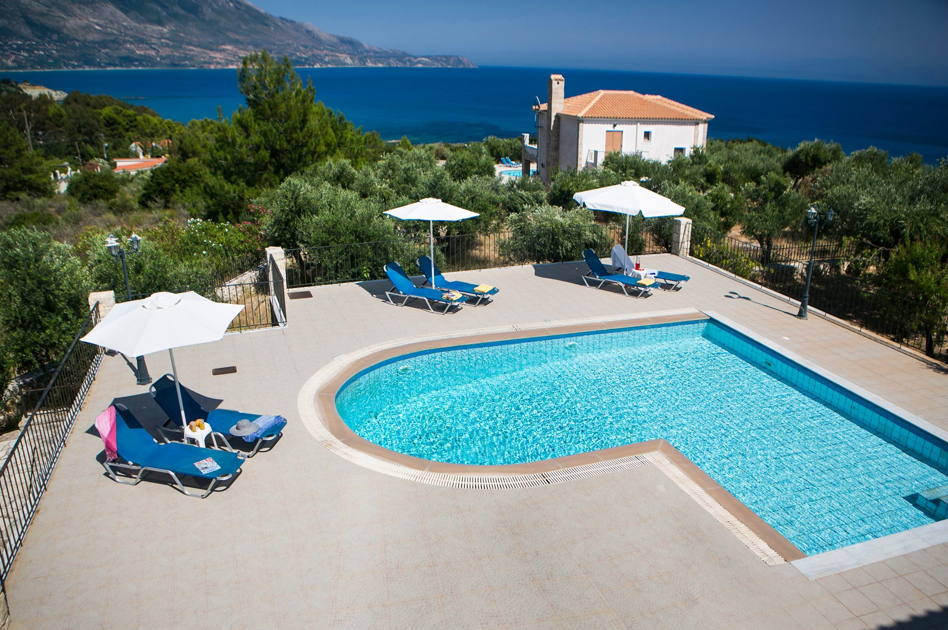 Villa Sandy Cove, Spartia, Kefalonia, Greece
