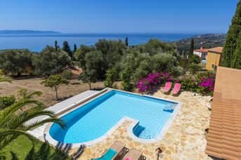 Villa Sea Breeze, Trapezaki, Kefalonia, Greece