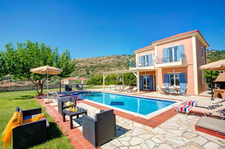 Villa Skala Bayview, Skala, Kefalonia, Greece