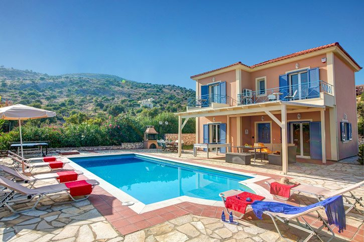 Villa Skala Beachview, Skala, Kefalonia, Greece