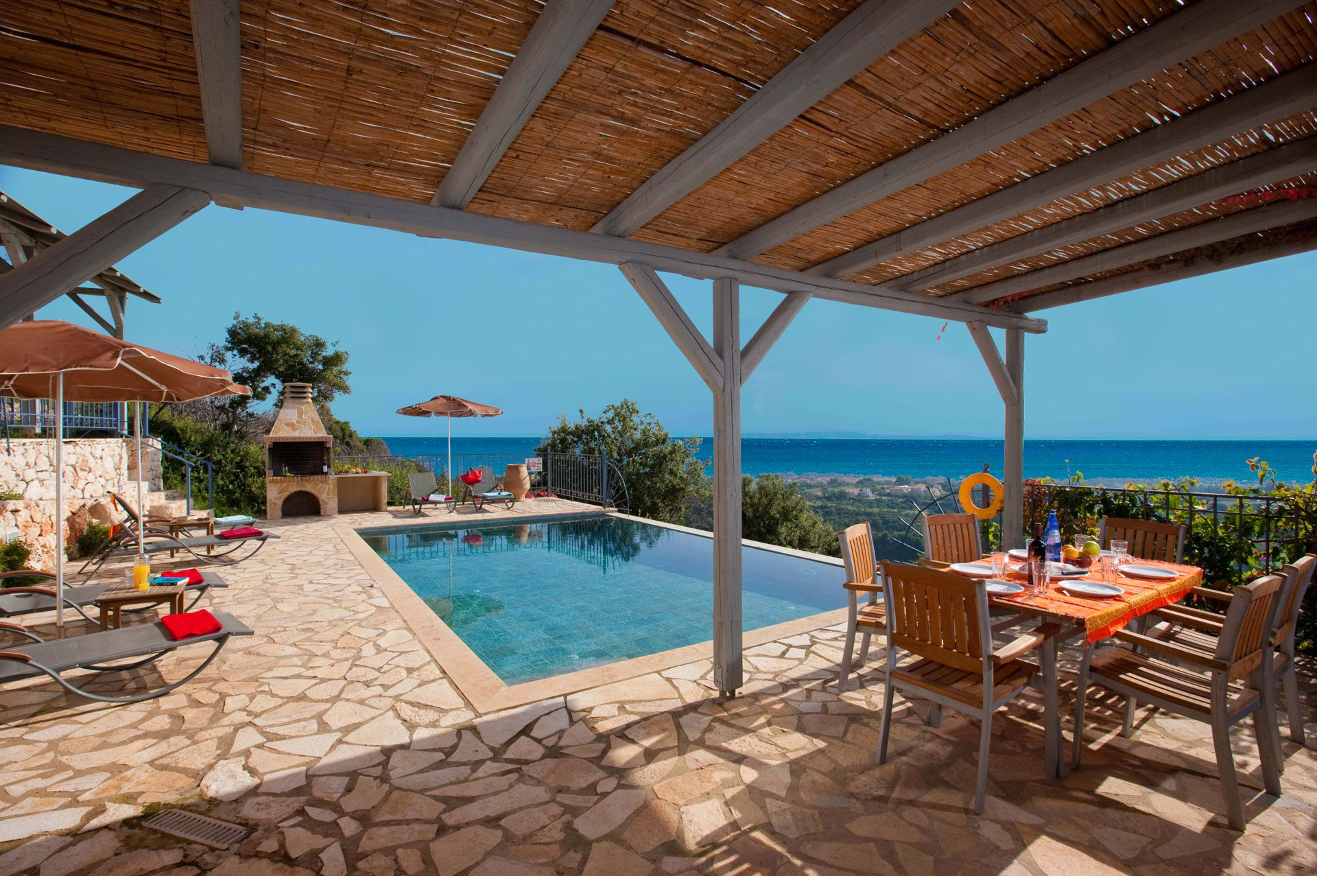 Villa Stani, Old Skala, Kefalonia, Greece