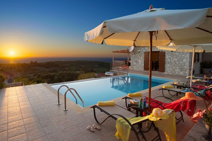 Villa Sunset House, Fiskardo, Kefalonia, Greece