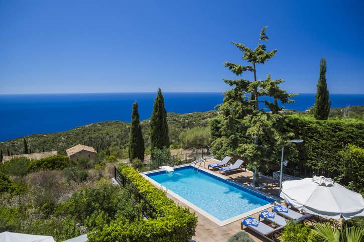 Villa Thimari Vigli, Fiskardo, Kefalonia, Greece