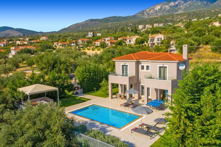 Villa Vento, Trapezaki, Kefalonia, Greece
