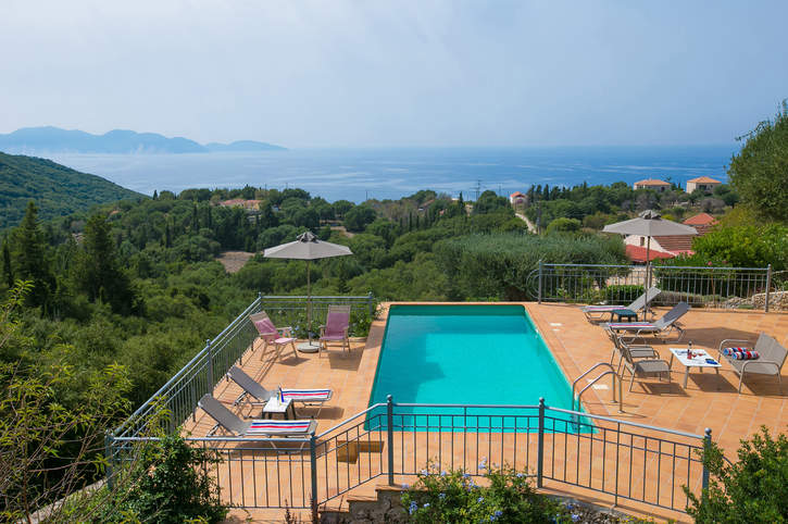 Villa Vigli Retreat, Fiskardo, Kefalonia, Greece