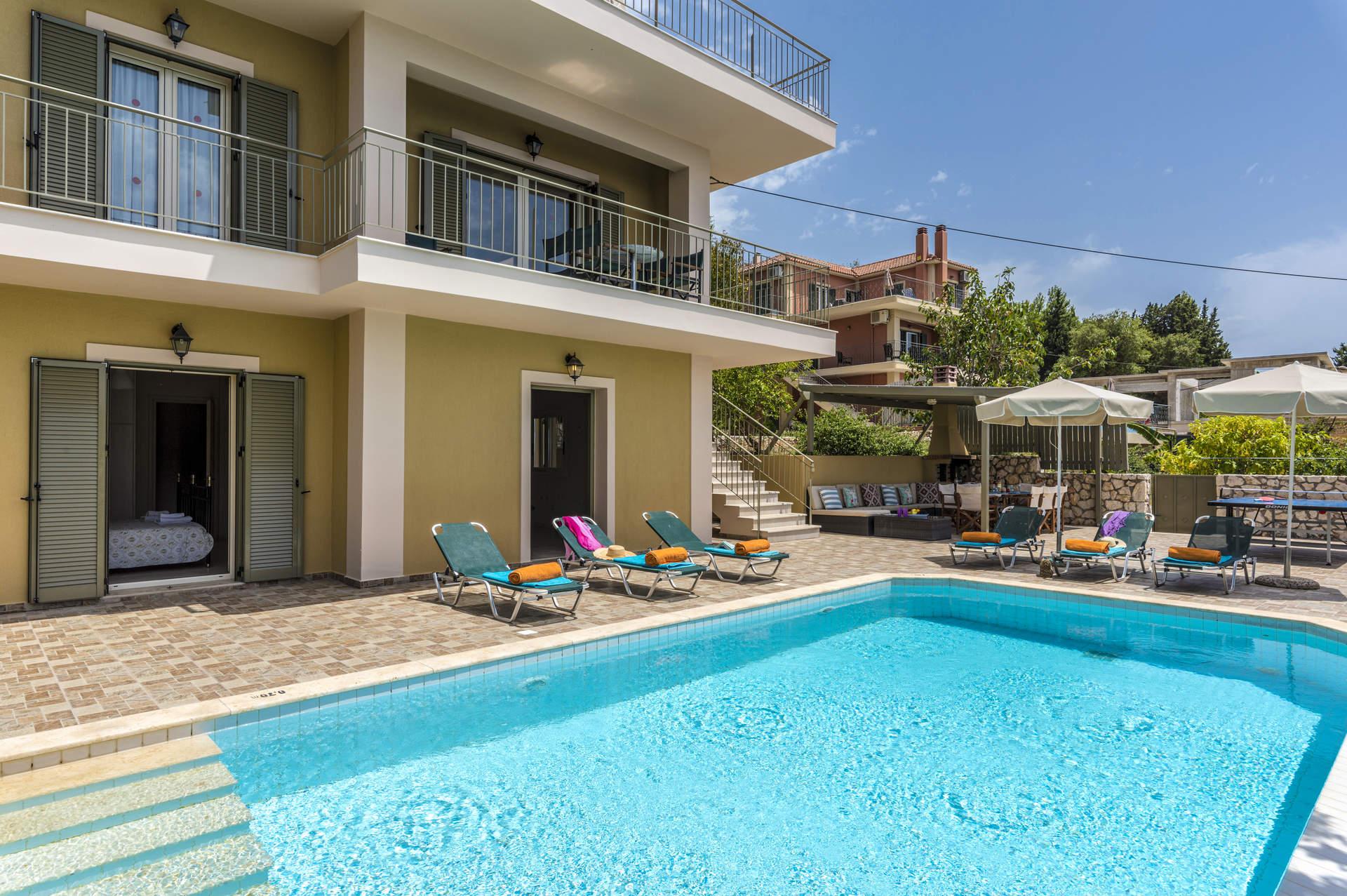Villa Vounaki, Lourdas, Kefalonia, Greece