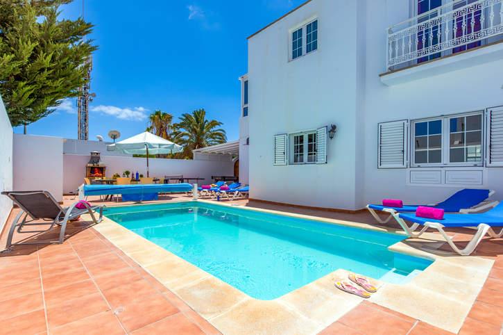 Villa Anil, Puerto del Carmen, Lanzarote, Spain