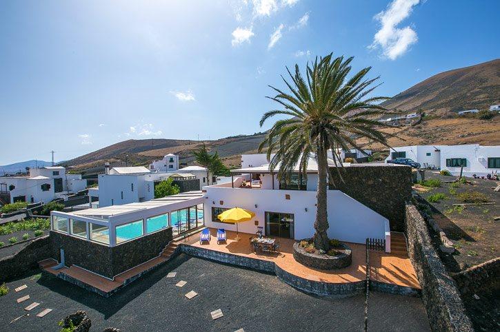 Villa Asomada, La Asomada, Lanzarote, Spain