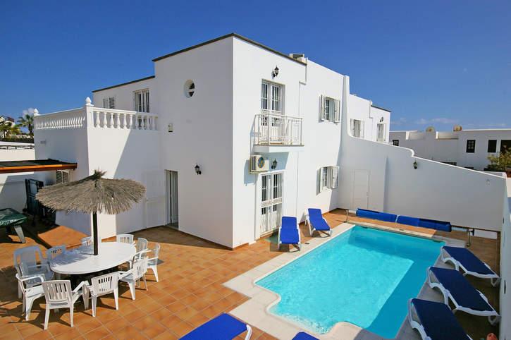 Villa Castillo, Puerto del Carmen, Lanzarote, Spain