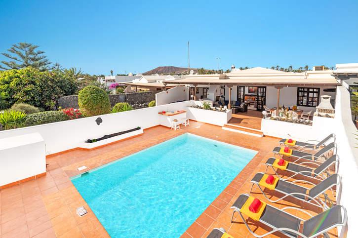 Villa Cielos, Playa Blanca, Lanzarote, Spain