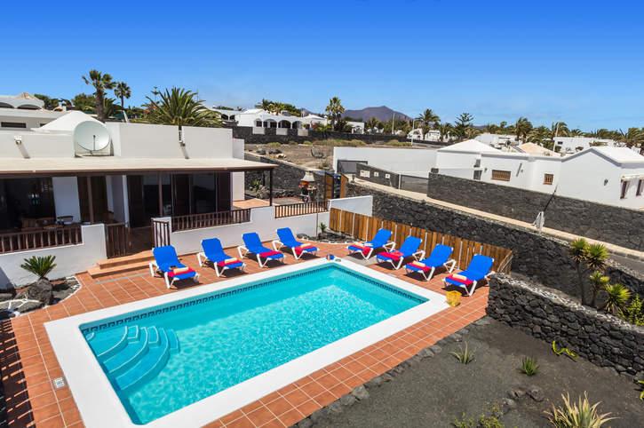 Villa Clarybel, Playa Blanca, Lanzarote, Spain