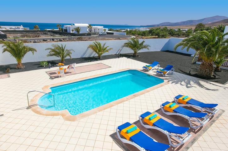 Villa Doramas, Puerto Calero, Lanzarote, Spain