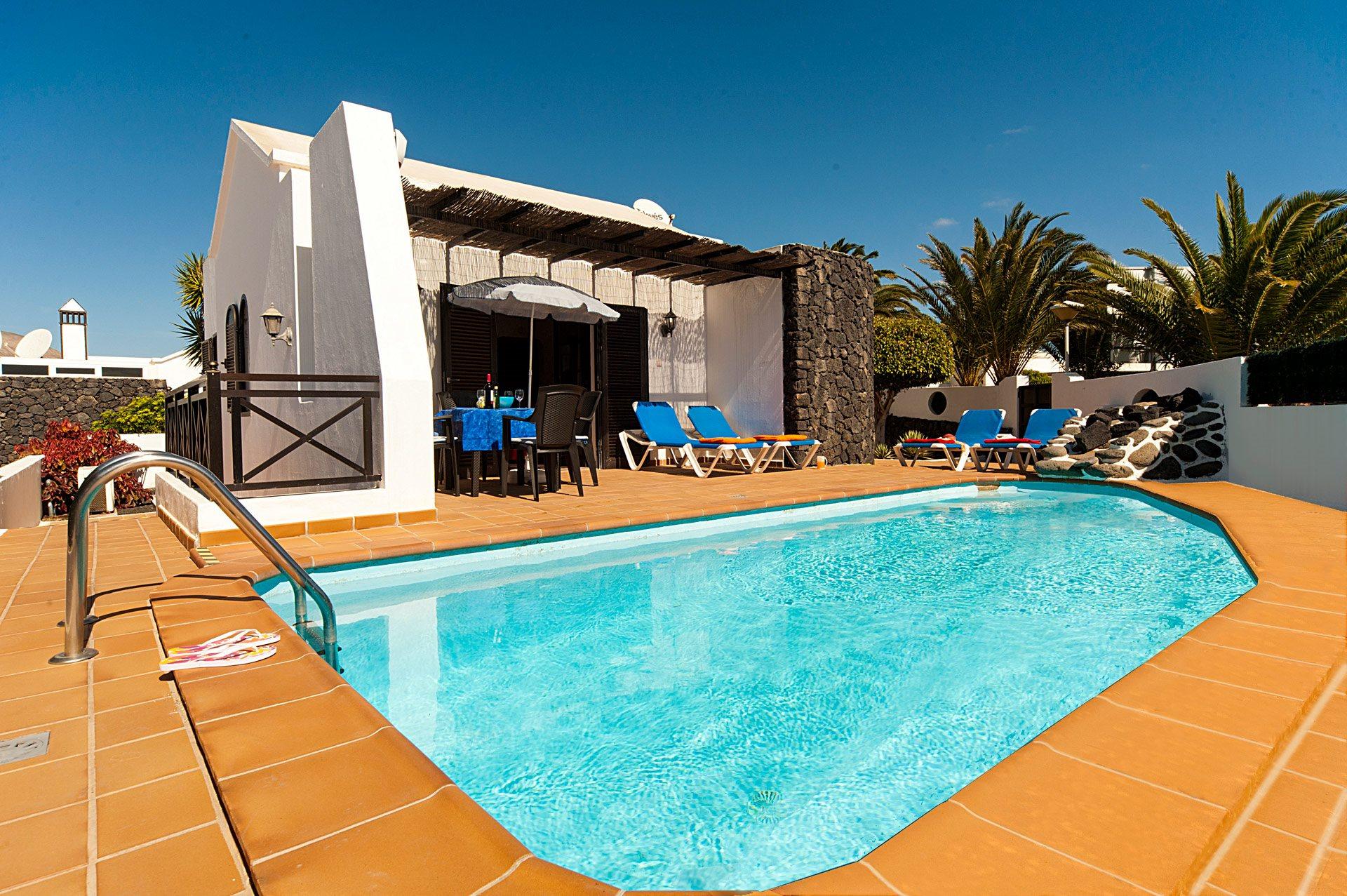 Villa Elena Sol, Matagorda, Lanzarote, Spain