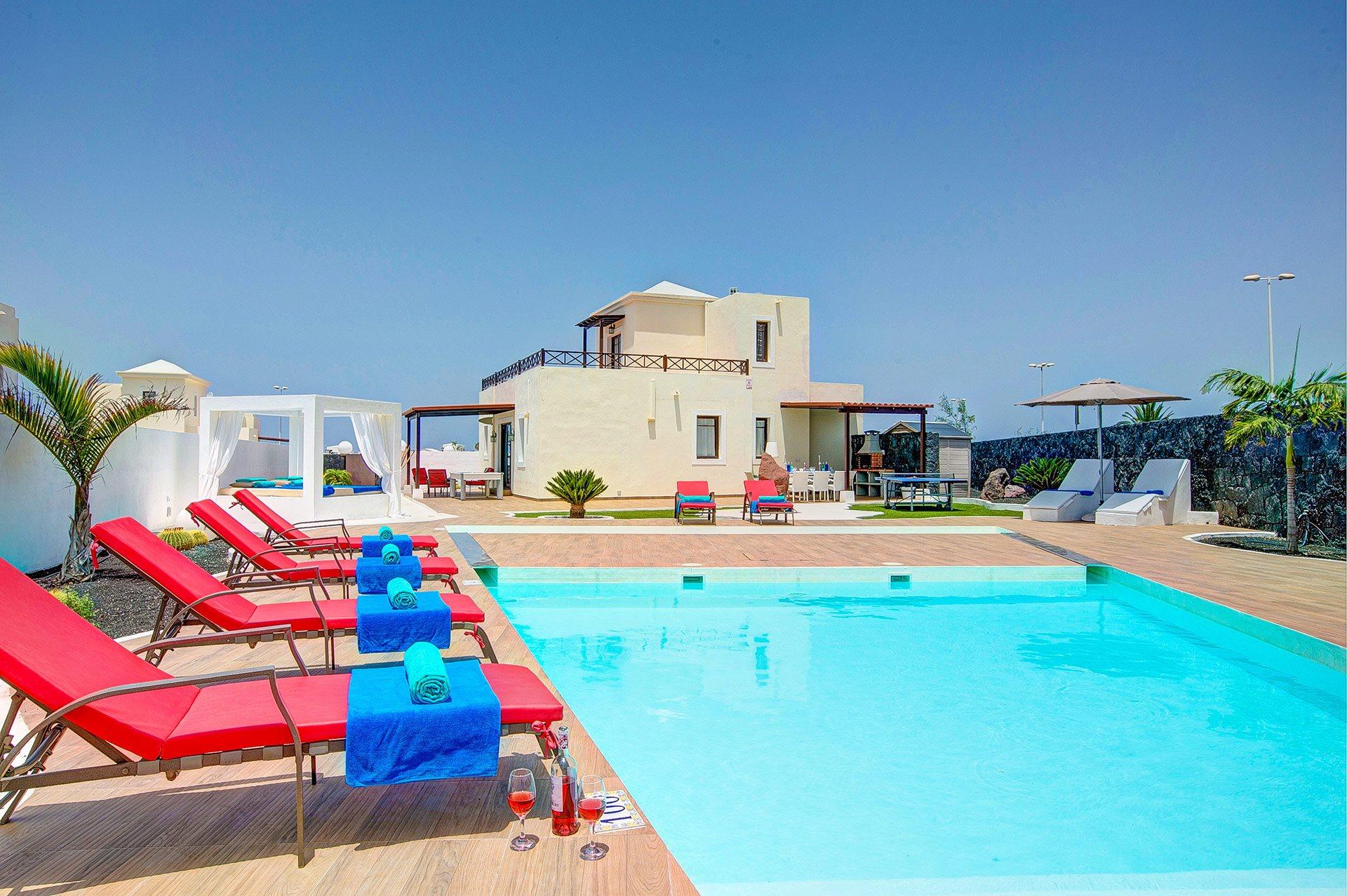 Villa Esmeralda Lanzarote, Playa Blanca, Lanzarote