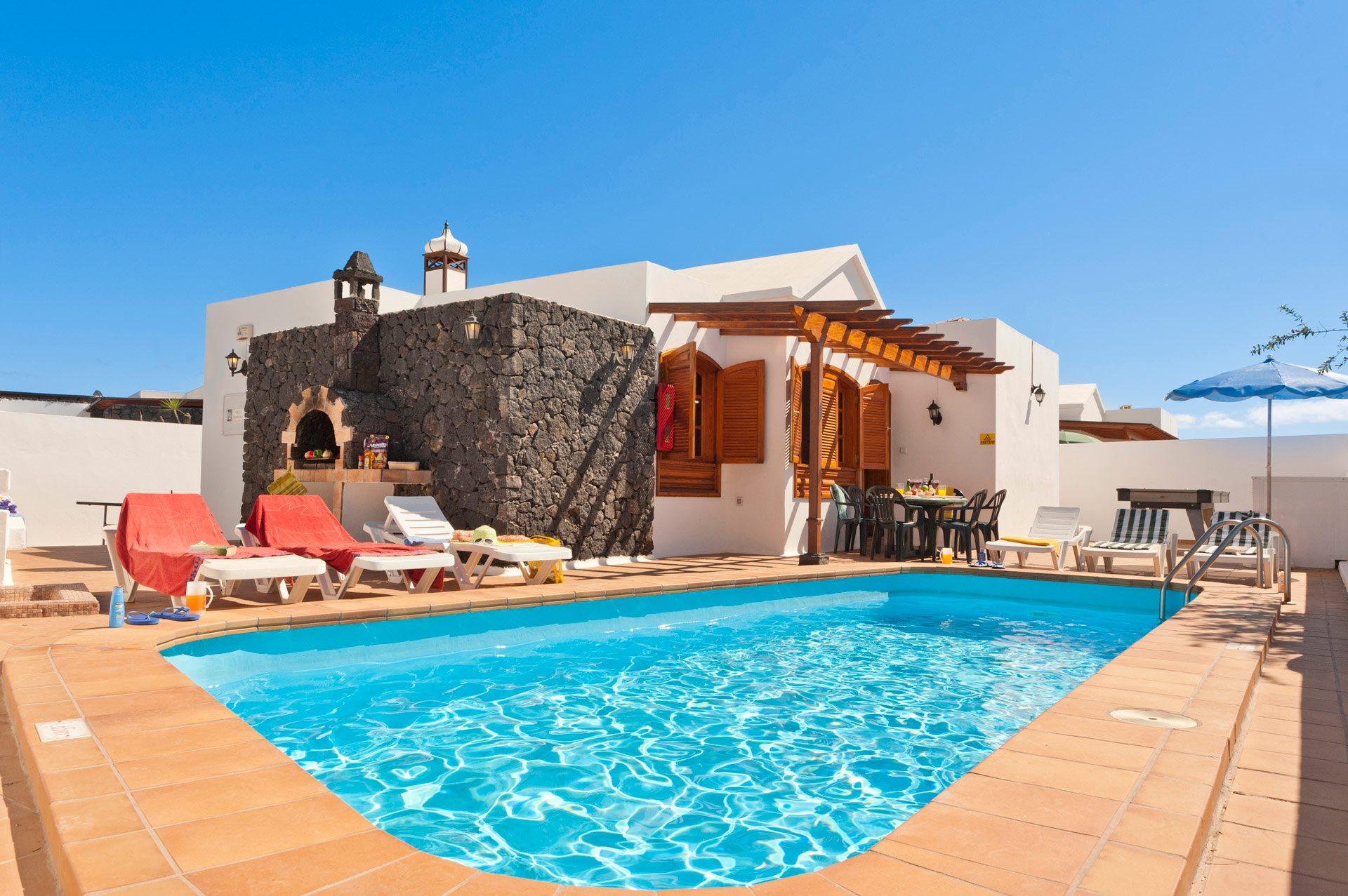 Villa Famara, Puerto del Carmen, Lanzarote