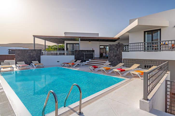 Villa Inma Calero, Puerto Calero, Lanzarote, Spain