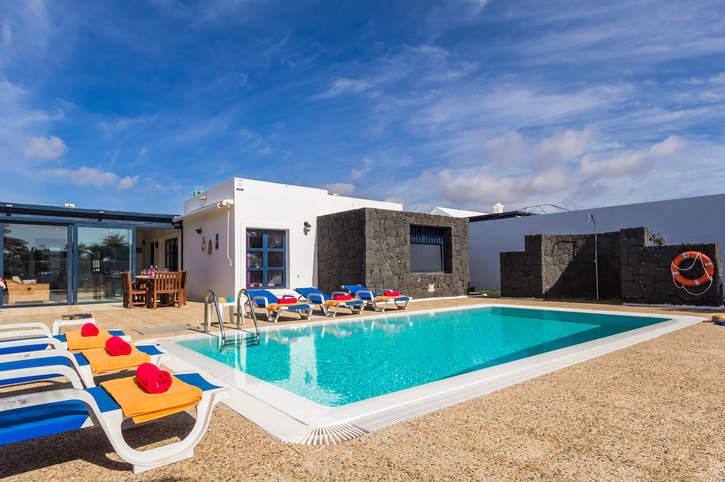 Villa Irina, Playa Blanca, Lanzarote, Spain