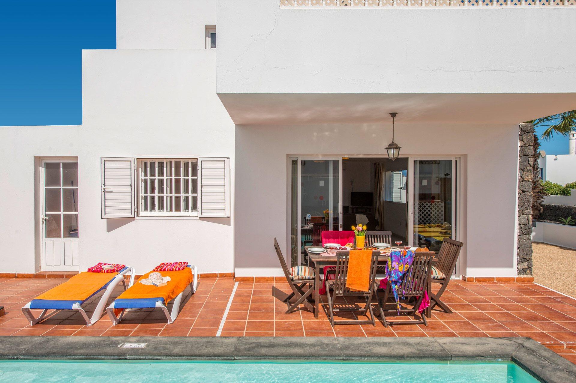 Villa Luz Lanzarote In Puerto Del Carmen Lanzarote