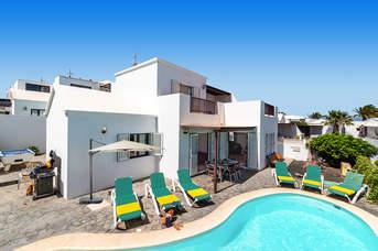 Villa Mariano, Matagorda, Lanzarote