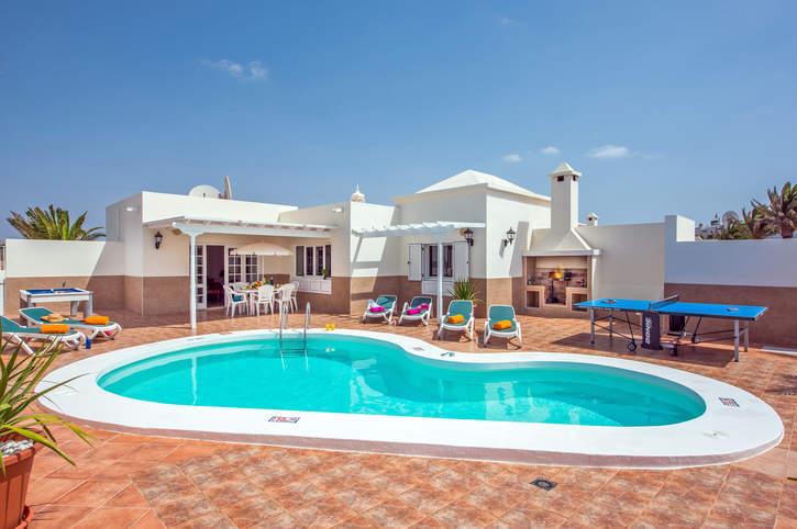 Villa Olivina 1, Matagorda, Lanzarote, Spain