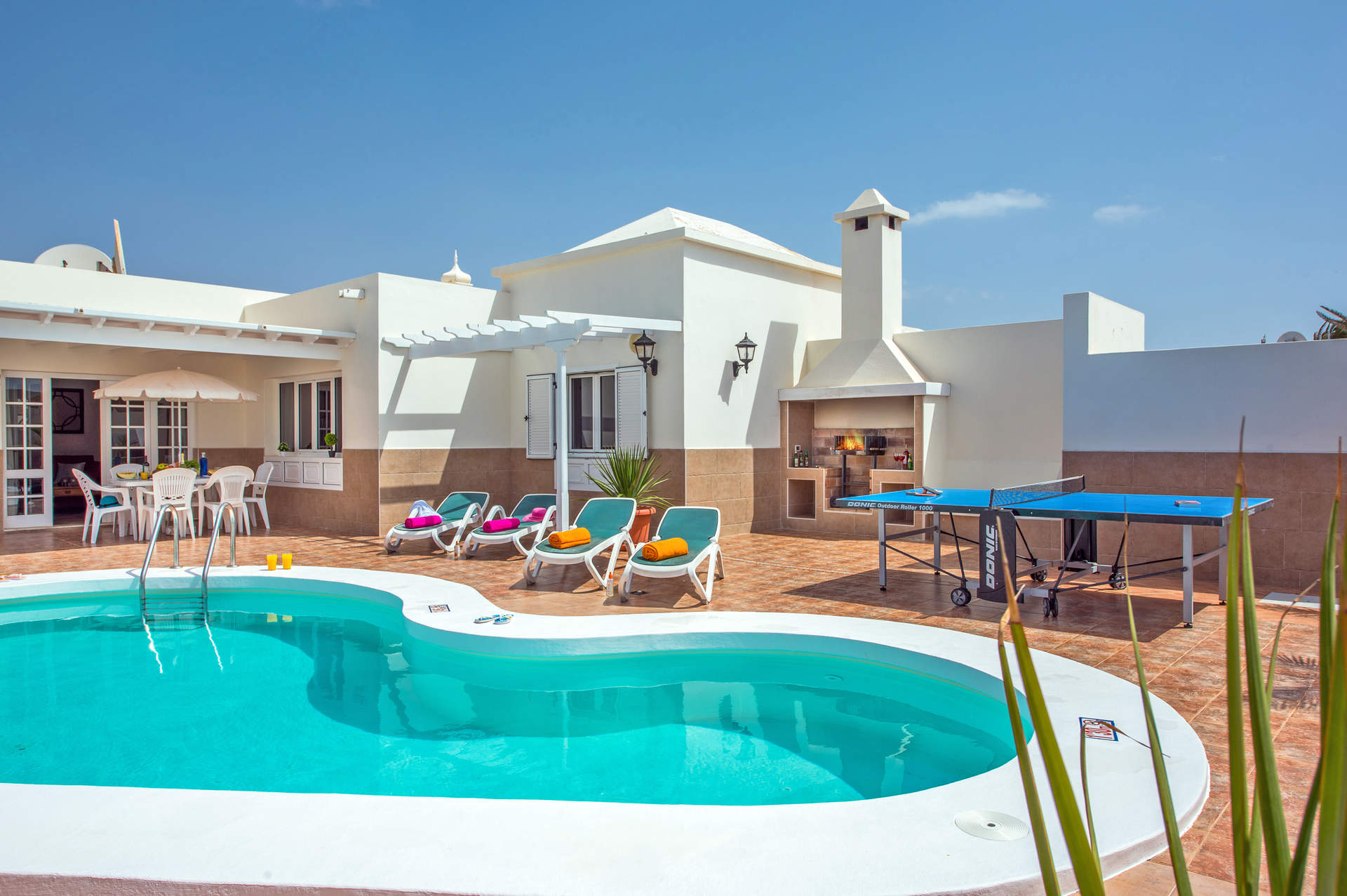 Villa Olivina 1 In Matagorda, Lanzarote | Villa Plus