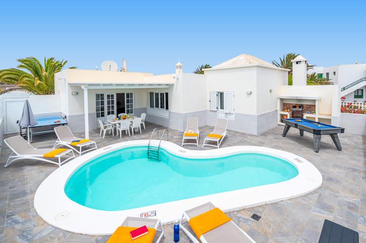 Villa Olivina 2, Matagorda, Lanzarote, Spain