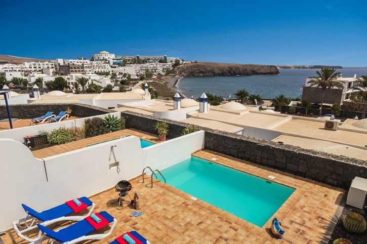 Villa Orilla Lanzarote In Playa Blanca Lanzarote Villa Plus