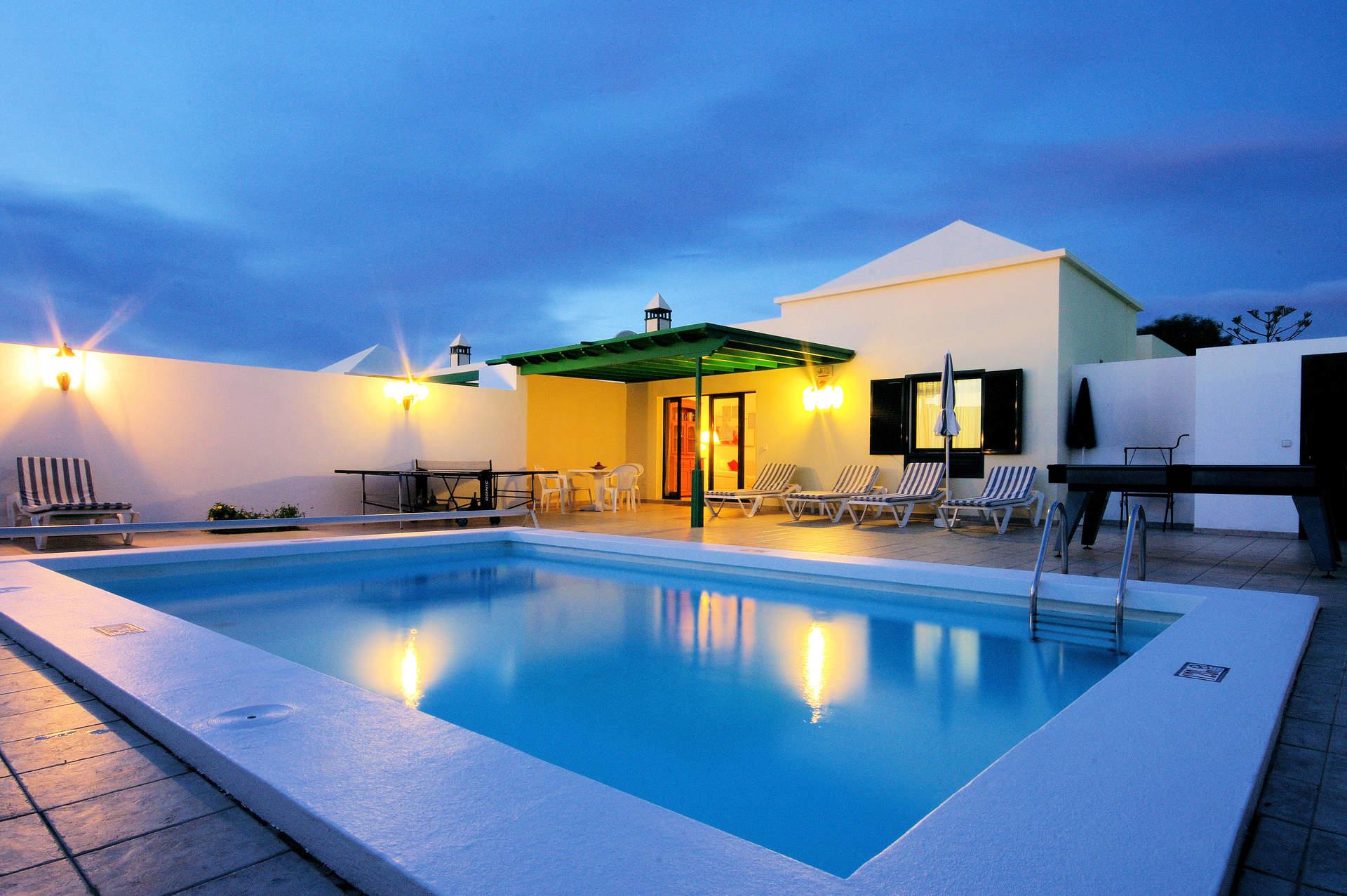 Villa Pacifico, Matagorda, Lanzarote, Spain