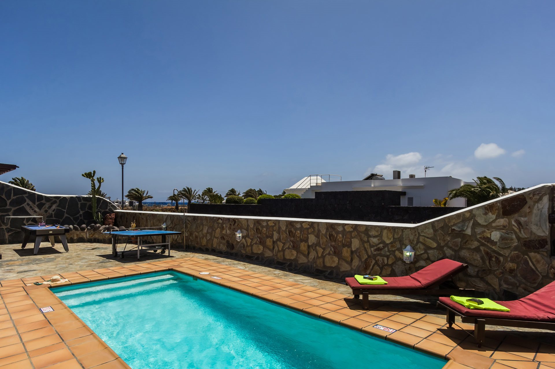 Villa Piedra In Playa Blanca Lanzarote Plus Swimming Pool Fuse Box