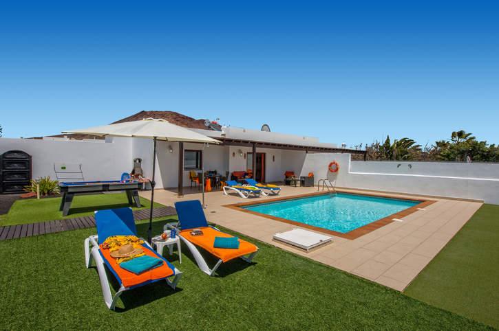 Villa Ramon, Playa Blanca, Lanzarote, Spain