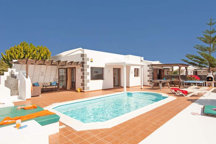 Villa Rey, Playa Blanca, Lanzarote, Spain