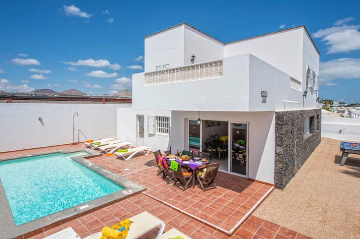 Villa Sol Lanzarote, Puerto del Carmen, Lanzarote, Spain